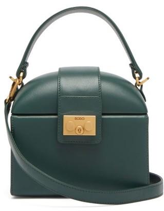 Rodo Trunk Leather Cross-body Bag - Womens - Green