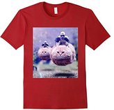 JET Imperial Storm Troopers Riding Flying Cats Tee Shirt