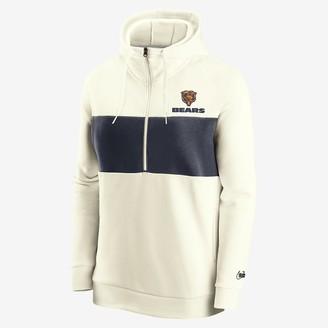 Nike Women's 1/2-Zip Fleece Pullover Historic (NFL Bears)