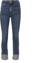 Rag & Bone Lou High-Rise Skinny Cuff Jeans