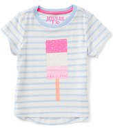 Joules Little Girls 3-6 Short Sleeve Popsicle Graphic Tee