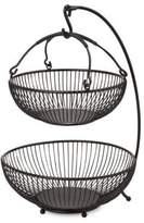 Mikasa Gourmet Basics Two Tiered Basket with Banana Hook