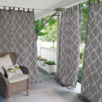 "Corado Geometric Indoor/Outdoor Curtain Panel, 50"" x 95"""
