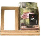 Sagaform Oval Oak Cookbook Holder