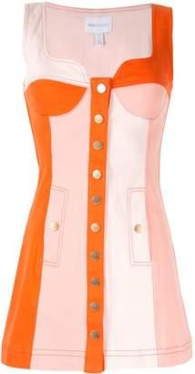 Alice McCall Chelsea Hotel panelled mini dress