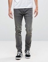Blend of America Twister Slim Jeans Wash Gray