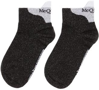 Alexander McQueen Ankle logo print socks