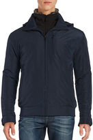 Weatherproof Rugged Oxford Bomber Jacket