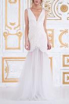 Tadashi Shoji Sleeveless Wedding Gown
