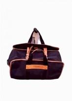 Lancel Black Cloth Travel bags
