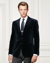 Ralph Lauren Anthony Stretch Velvet Jacket