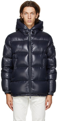 Moncler Navy Down Ecrins Jacket