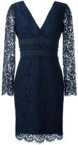 Diane von Furstenberg deep V-neck lace dress - women - Cotton/Polyamide/Polyester/Viscose - 6