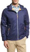 Peter Millar Seaside Wind-Resistant Zip-Front Jacket, Perfect Navy