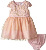 Us Angels Cap Sleeve Ballerina Dress (Infant)