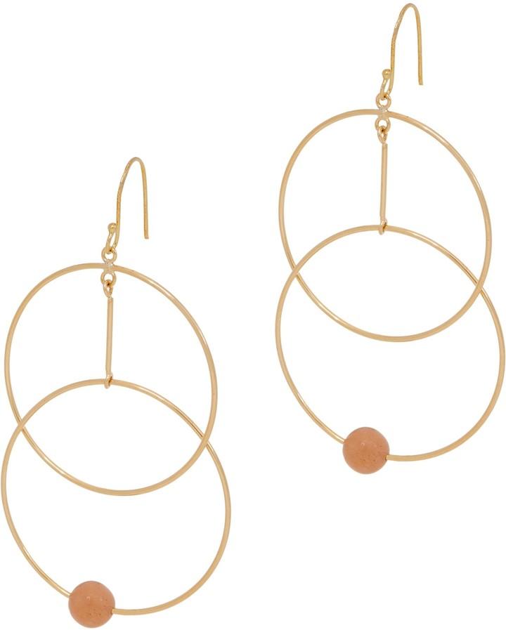 a55f1f37a Peach Drop Earrings - ShopStyle