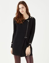 Star by Julien Macdonald Double Face Biker Cardigan