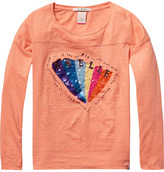 Scotch & Soda Sequined T-Shirt