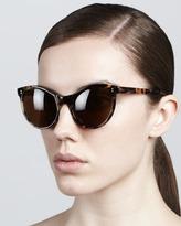 Illesteva Clarie Cat-Eye Sunglasses
