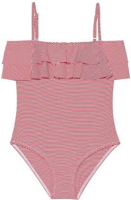 Melissa Odabash Kids Ivy striped swimsuit