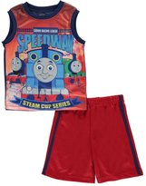 "Thomas & Friends Little Boys' ""Sodor Speedway"" 2-Piece Outfit"