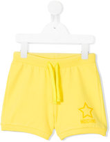 Moschino Kids - drawstring shorts - kids - Cotton/Spandex/Elastane - 12 yrs