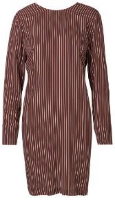 Libertine-Libertine Wine Stripe Enough Dress - XS - Red/Purple/White