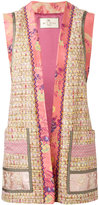 Etro open waistcoat - women - Silk/Cotton/Acrylic/Viscose - 42