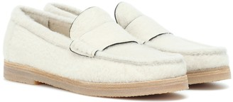 Stuart Weitzman Bromley shearling loafers