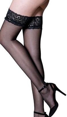 Pour Moi? Adore Lace Top Thigh Highs