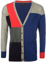 Diesel colour block cardigan - women - Cotton/Linen/Flax/Nylon/Rayon - M