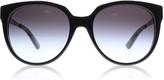 DKNY 4128 Sunglasses Black 36748G 56mm
