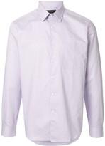 D'urban long-sleeved grid shirt