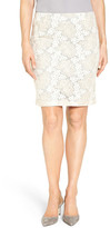 Halogen Lace Pencil Skirt (Regular)