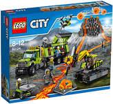 Lego City 60124 Volcano Exploration Base
