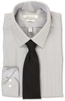 Perry Ellis Slim Fit Tonal Stripe Dress Shirt