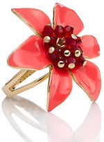 Kate Spade Lovely lilies ring
