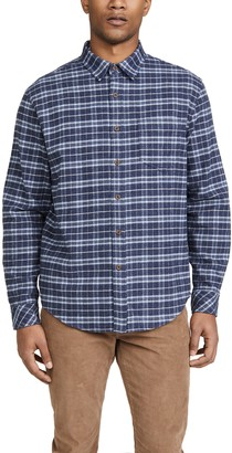 Rails Long Sleeve Check Button Down Forrest Shirt