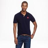 J.Crew PLAY Comme des Garçons® polo shirt in navy