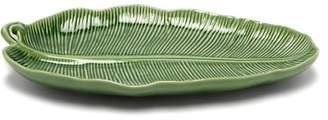 Bordallo Pinheiro - Banana Leaves Large Earthenware Platter - Green