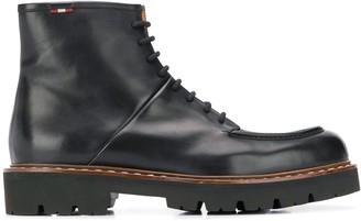 Bally Chunky Heel Boots