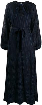 M Missoni Chevron Lurex Knit Dress