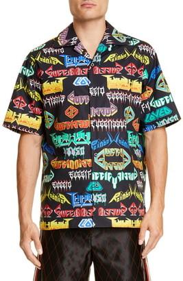 Gucci Metal Mix Sport Shirt