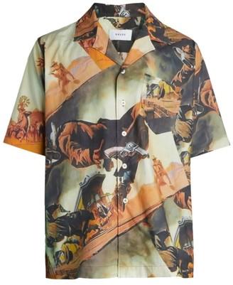 Rhude Gunslinger Button Front Shirt