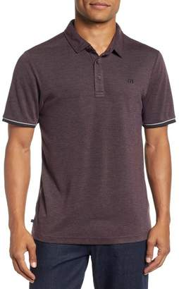 Travis Mathew Duder Regular Fit Pique Polo