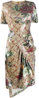 Preen by Thornton Bregazzi Rio sequin midi dress