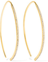 Ileana Makri Eye 18-karat Gold Diamond Earrings - one size