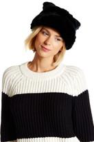Kate Spade Faux Fur Ear Cap Hat