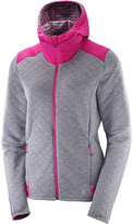 Salomon Alloy & Rose Violet Elevate Full-Zip Midlayer Jacket - Women