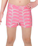 Danskin Camellia Rose Sparkle Shorts - Girls & Women